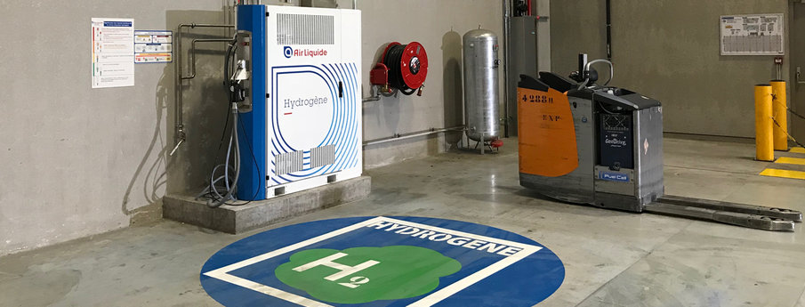 Air Liquide Opens a New Hydrogen Station at Carrefour1 2