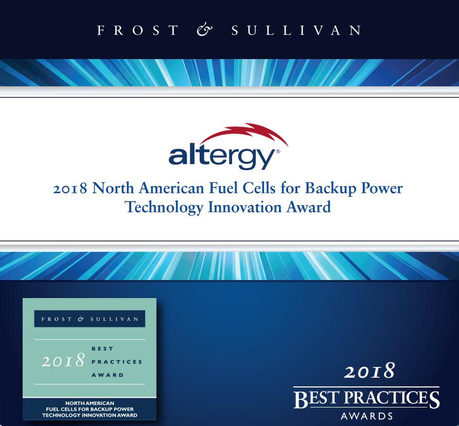 Altergy Award 2018 2