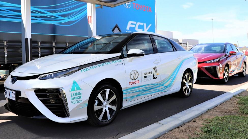 Australia Hydrogen Fuel Cell Mirai Trial 1