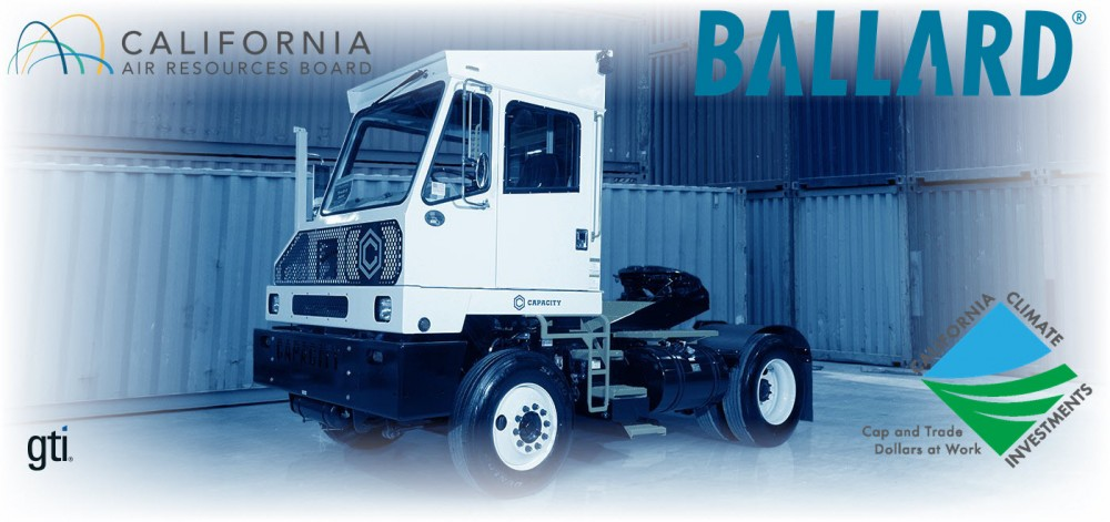 Ballard Fuel Cell Modules to Power Yard Trucks at Port of L.A. in CARB Funded Clean Energy Project 2