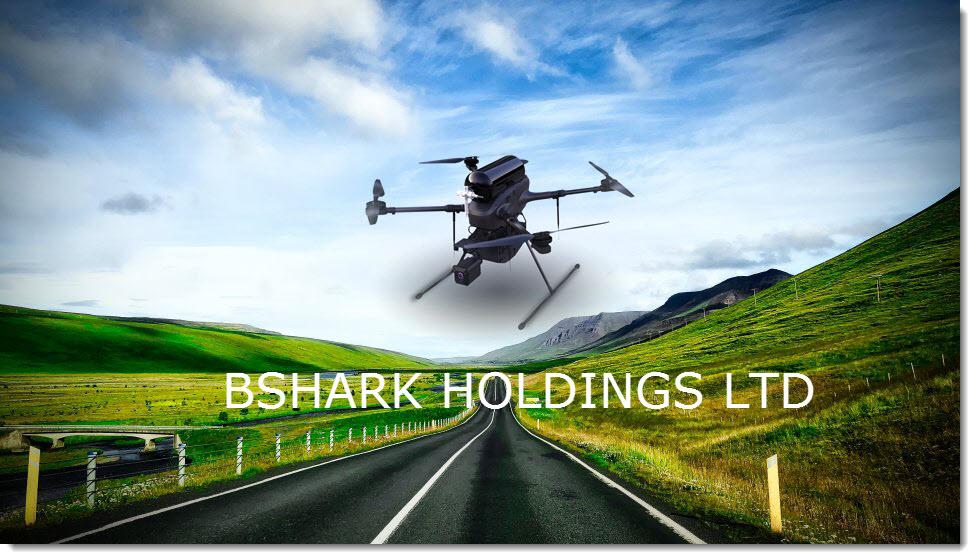 Bshark Hydrogen Drone Flying 2