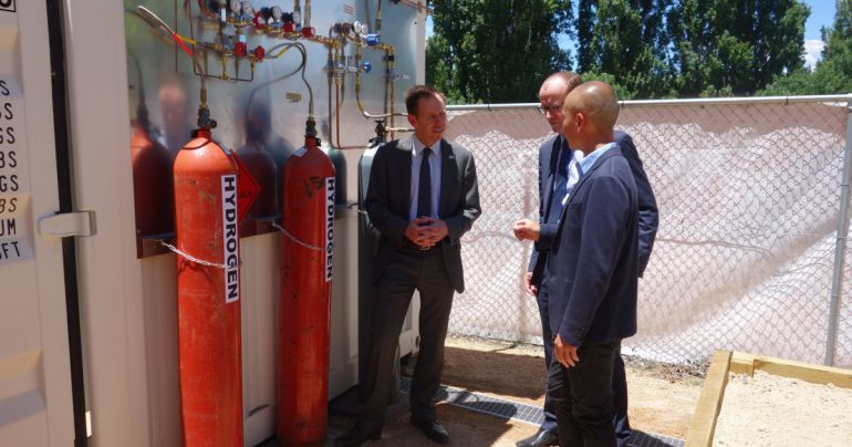 Evoenergy and CIT Partner to Build Australias First of its Kind Hydrogen Test Facility at CIT Fyshwick 1