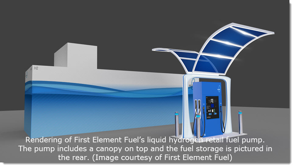 First Element Hydrogen Station 1