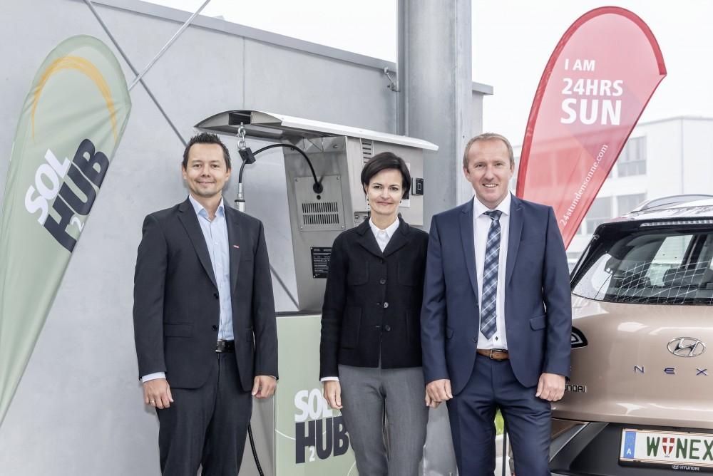 Fronius Opens Austrias First Green Hydrogen Refueling Station 1
