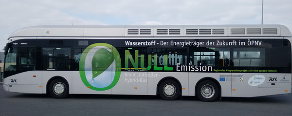 Fuel Cell Bus in Germany 1