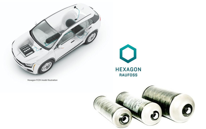A Third Automotive Company Commits To Hexagon Composites As Supplier Fuel Cell Electric Vehicles