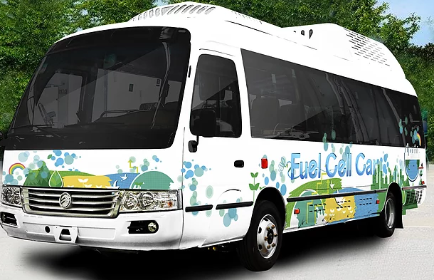 Horizon Fuel Cell Powered Bus 1