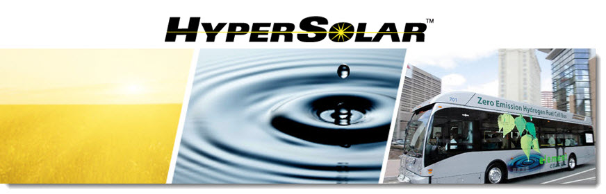 HyperSolar Team Recognized in Peer Reviewed Scientific