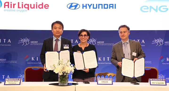 Hyundai 2B AirLiquide 2B Engie 2