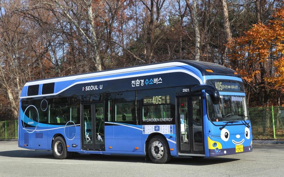 Hyundai Fuel Cell Bus for Seoul 2