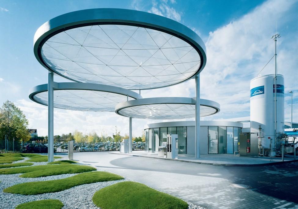 Linde Munich Hydrogen Station 1