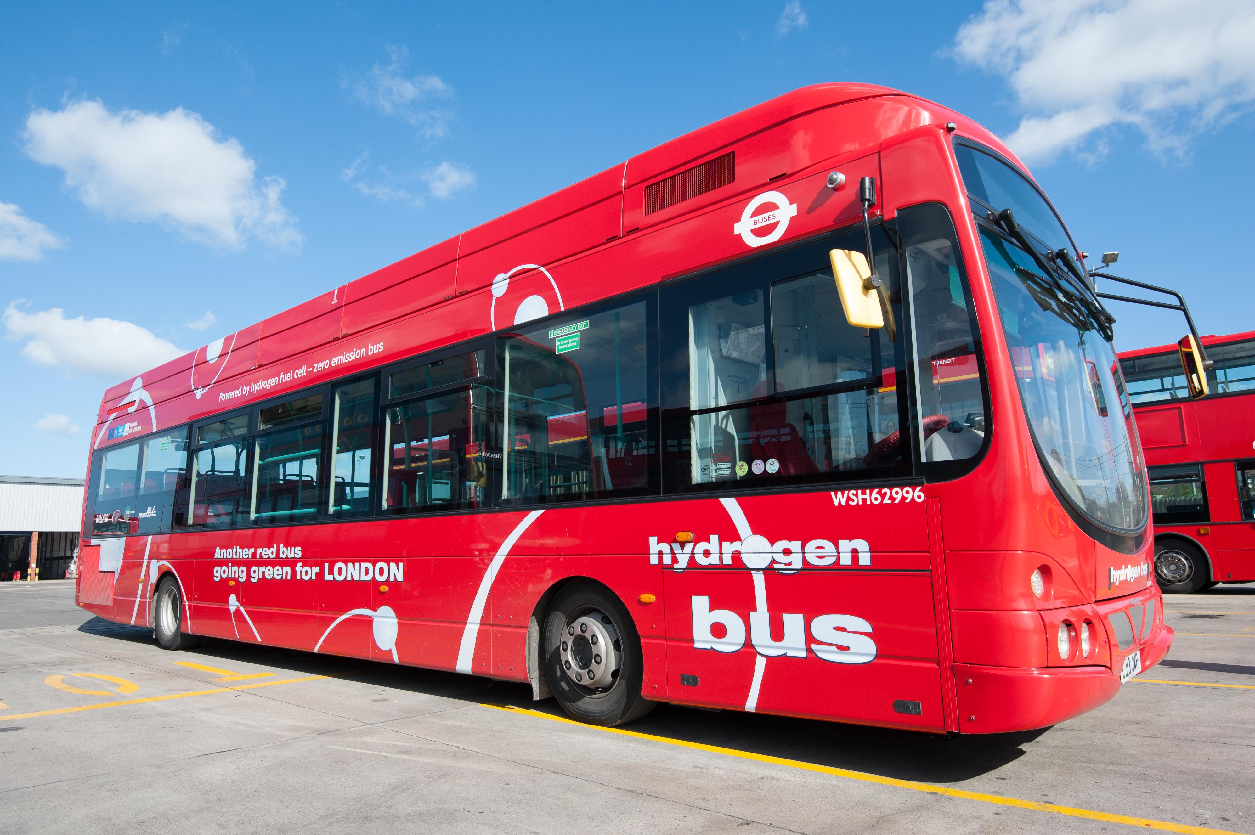 London Hydrogen Bus 2