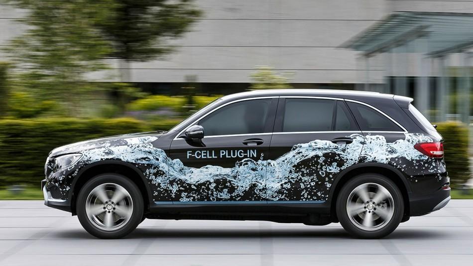 Mercedes GLC F Cell 2 2