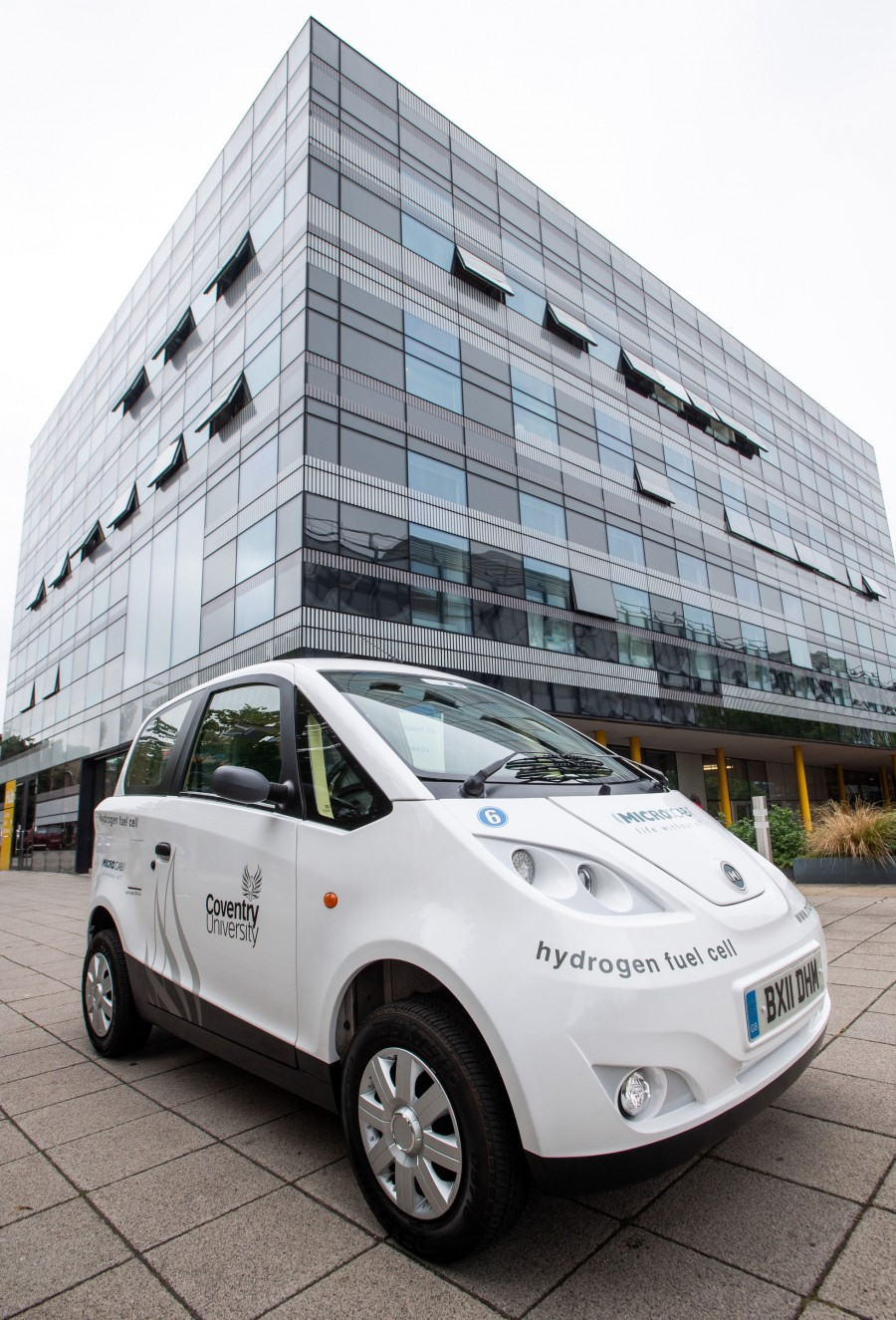 Microcab H2EV hydrogen fuel cell vehicle 2