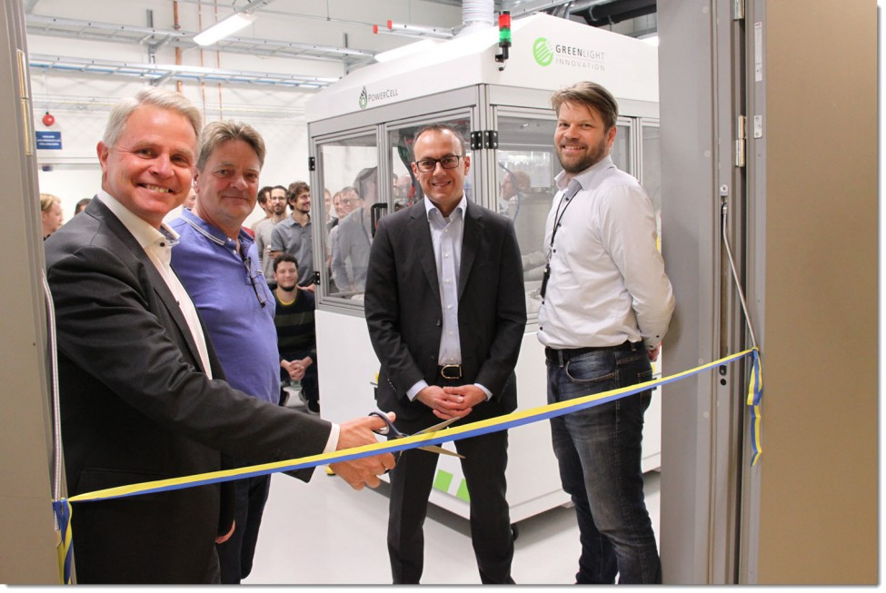 PowerCell New Fuel Cell Lab 1