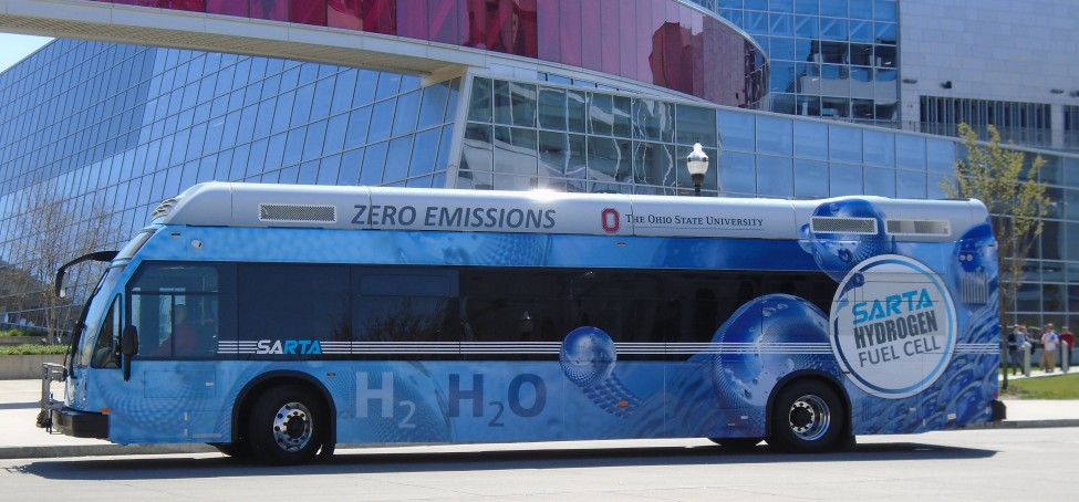 SARTA Hydroge Fuel Cell Bus for Paratransit Riders 2