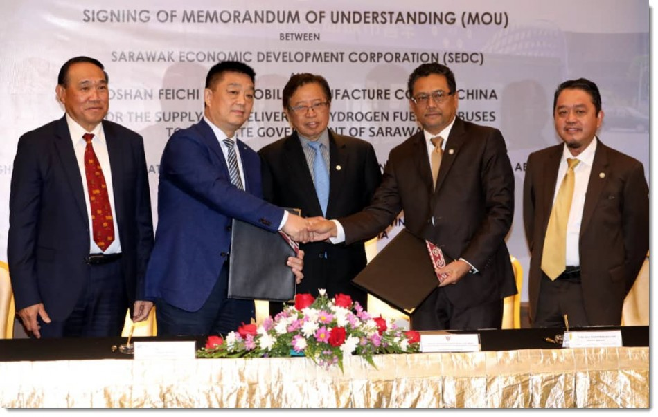 Sarawak Signing Ceremony with Foshan 2