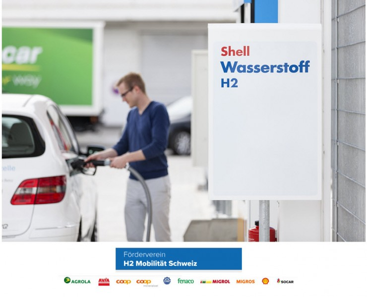 Shell Joins H2 Mobility Switzerland