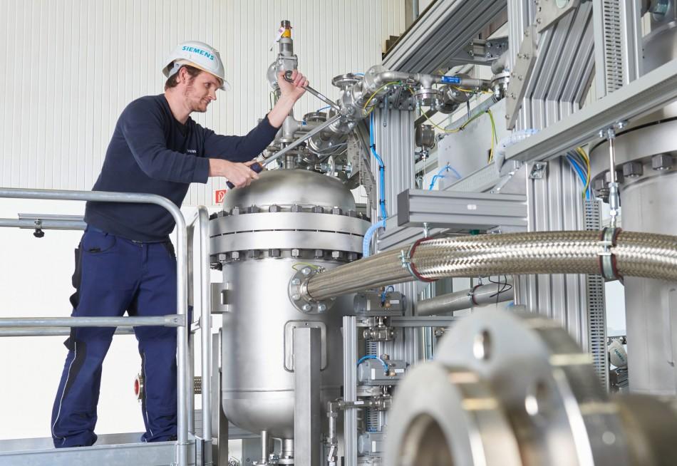 Siemans Electrolysis machine 2