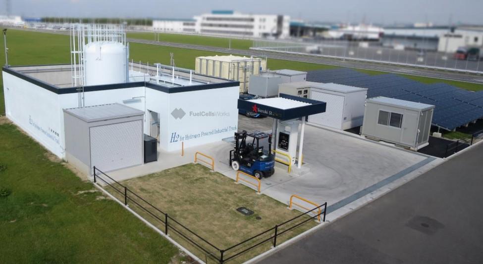 Suzuki Shohen Hydrogen Station