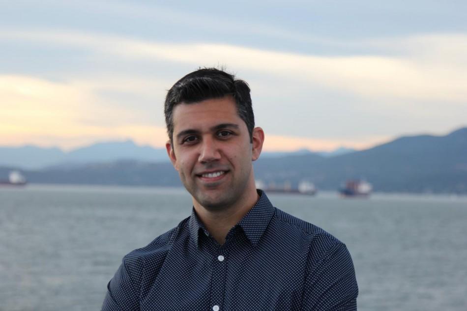 UBC Study author Beniamin Zahiri2C a materials scientist 2