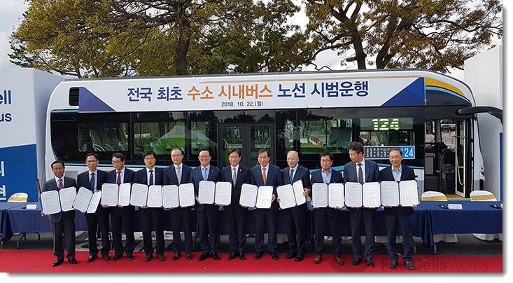 Ulsan Hydrogen Bus Project Hyundai