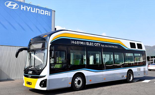 Ulsan Hydrogen Bus Project Hyundai2 2