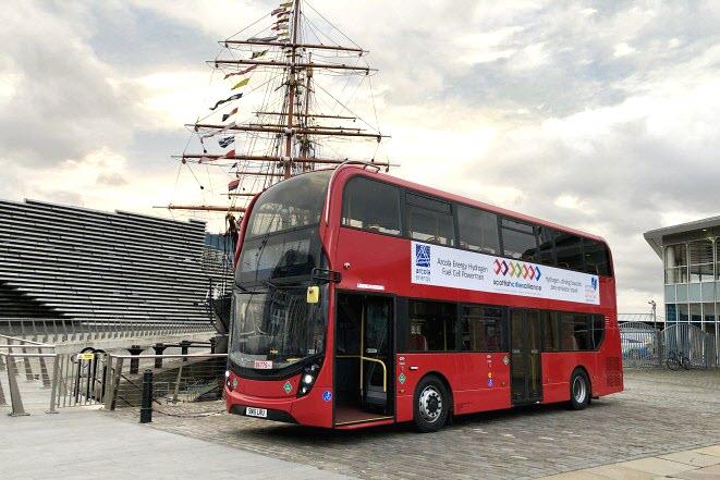 ADL Hydrogen Bus 3