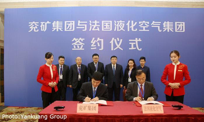 Air Liquide and Yankuang Group Signing Ceremony 1 3