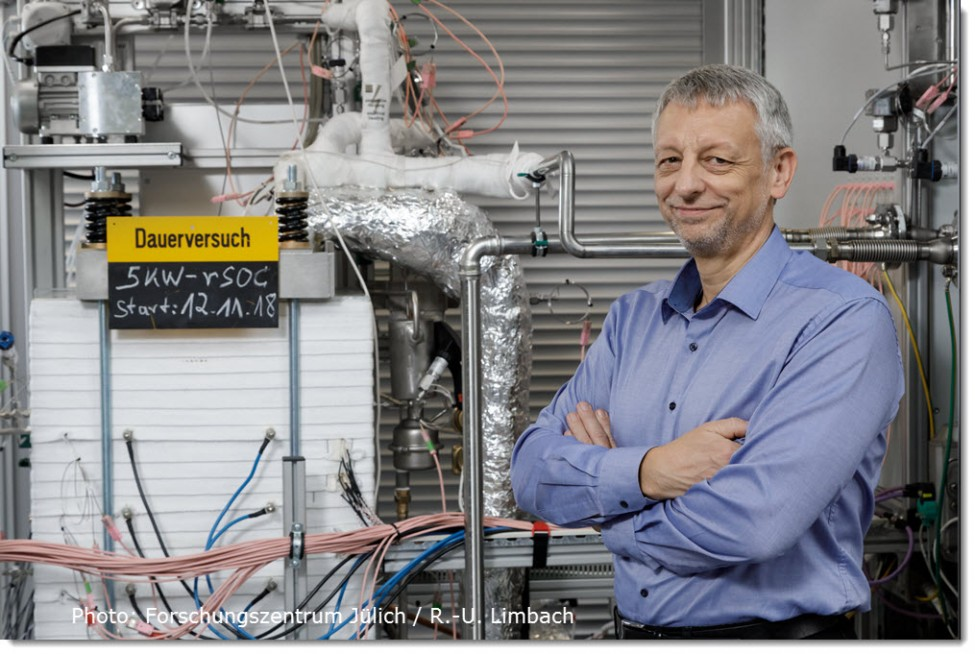 Julich Reversible Fuel Cell Sets Record 3