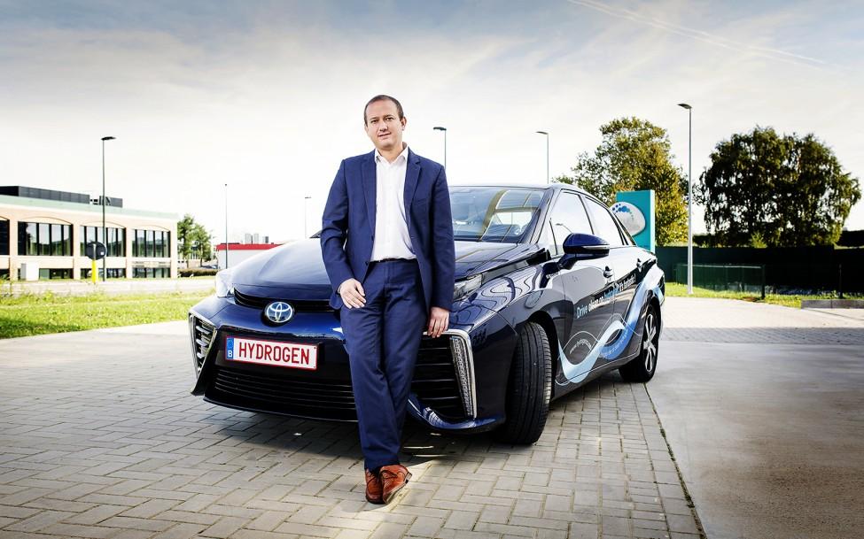 Mirai Toyotas first hydrogen car in Belgium 1 3