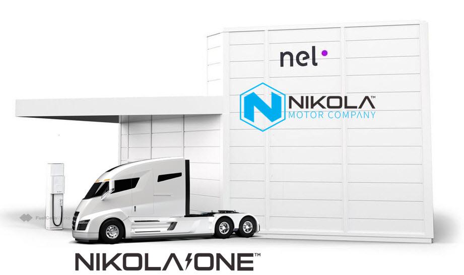 NEL 2B Nikola Motor Hydrogen Refuelling Station