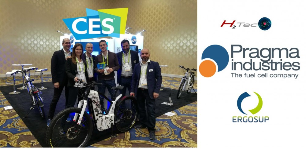 Pragma Fuel Cell Bike and Station win CES 2019 Award 3