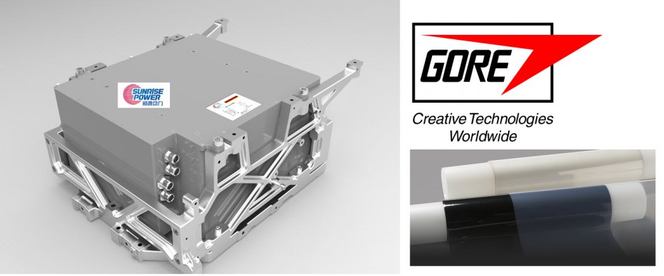 Sunrise Fuel Cell Module with Gore Membrane 3