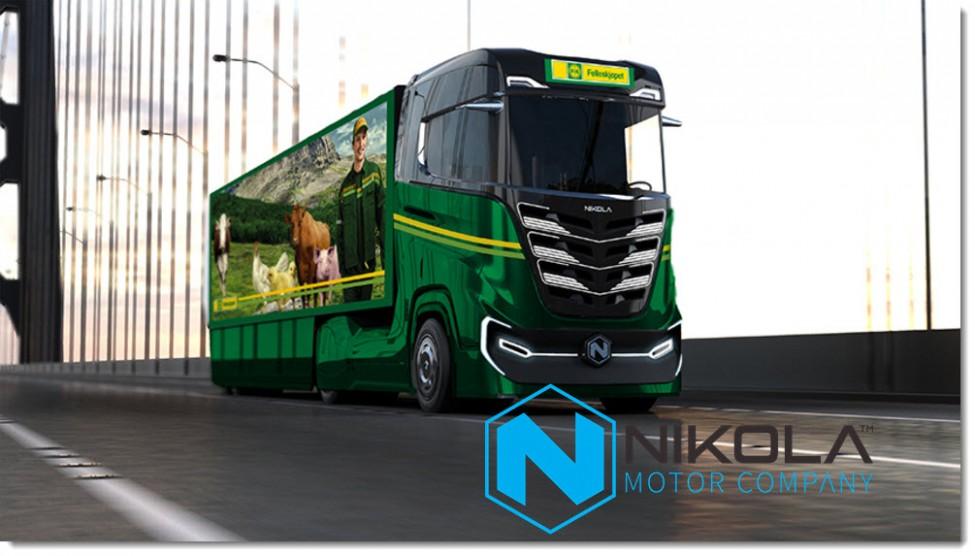 Tre Nikola Truck Order 3